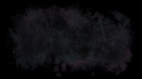 Abstract dark watercolor background Animation