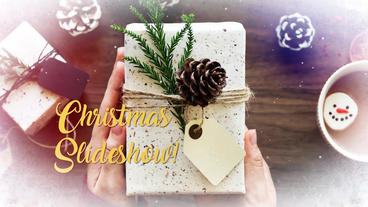 Christmas Slideshow New Year Premiere Pro Template