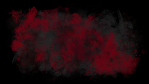 Red-black horrible blot Animation