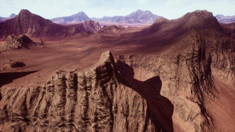 4K Rocky Desert Terrain Geology Cinematic 3D Animation Animation