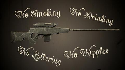 USA Gun Control and Prohibition Concept Vintage Animation Animation