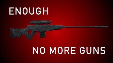 USA Gun Prohibition No More Guns Animation Animation
