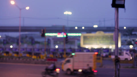 CMBT - Chennai Mofussil Bus Terminus, largest bus station in Asia Live Action