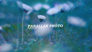 Parallax Photo Presentation Folder stock footage