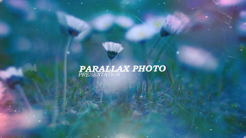 Parallax Photo Presentation folder After Effects Template