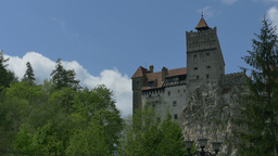 Dracula Castle in Spring Footage