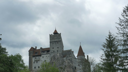 Bran Castle View Footage