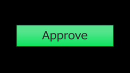 Clicking an Approve Button Mouse Click Footage
