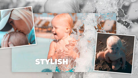 Family Slideshow After Effects Template