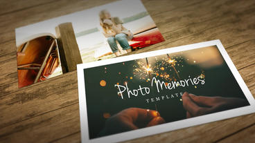 Photo Memories Slideshow Plantilla de After Effects