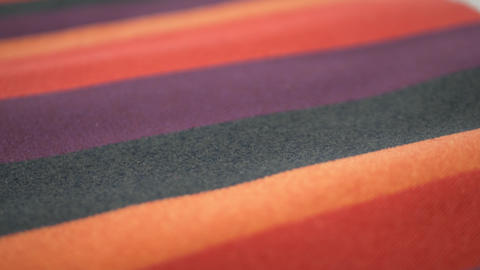 Fabric Samples Of Different Colors Footage