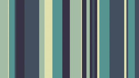 Multicolor Stripes 33 - Greenish Colors Stripes Video Background Loop Animation