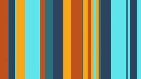Multicolor Stripes 30 - Fresh Colors Bars Video Background Loop CG動画素材