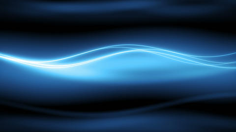 New Wyler - 4k Stylish Blue Slow Waves Video Background Loop Animation