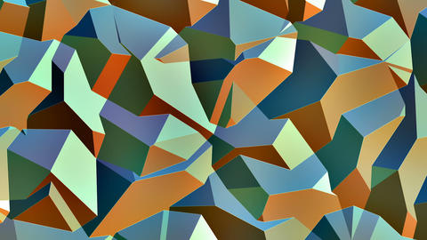 Erich - Organic Geometric Pattern Video Background Loop Animation