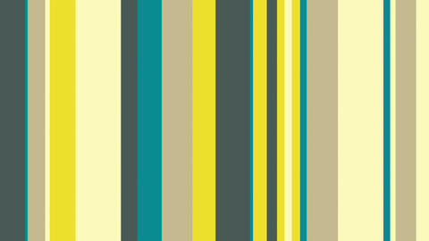 Multicolor Stripes 25 - Green Yellow Stripes Video Background Loop Animation