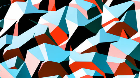 Walter - Stylish Geometric Video Background Loop Animation