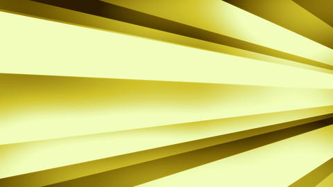DynStripes Gold - 4k Warm Minimalistic 3D Shapes Video Background Loop Animation