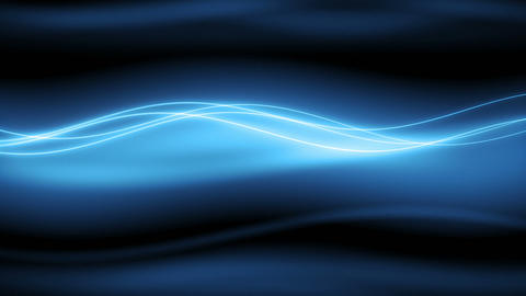 New Wyler - Stylish Blue Slow Waves Video Background Loop Animation