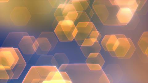 Flarez Orange Blue - Stylish Lens Flares Video Background Loop Animation