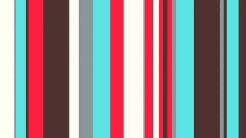 Multicolor Stripes 42 - 4k Young Fashion Looping Bars Video Background Loop Animation
