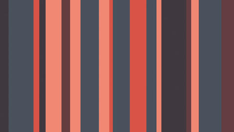 Multicolor Stripes 43 - Red And Gray Stripes Video Background Loop Animation
