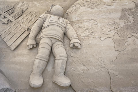 Sand sculpture Photo