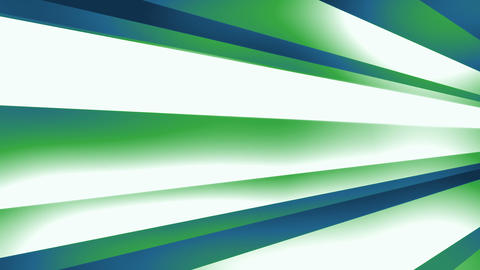 DynStripes Blue Green - Dynamic 3D Shapes Video…, Stock Animation