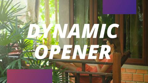 Fast Dynamic Opener After Effects Template