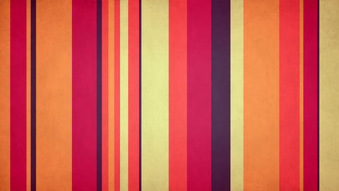 Paperlike Multicolor Stripes 50 - 4k Warm Colored Grungy Bars Video Background Animation