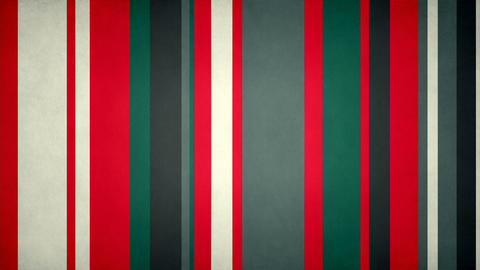 Paperlike Multicolor Stripes 39 - Textured Red And Green Stripes Video Animation