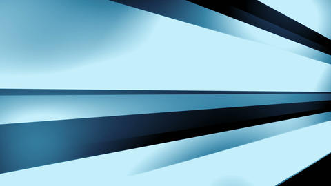 DynStripes Blue - Dynamic 3D Shapes Video Background Loop Animation