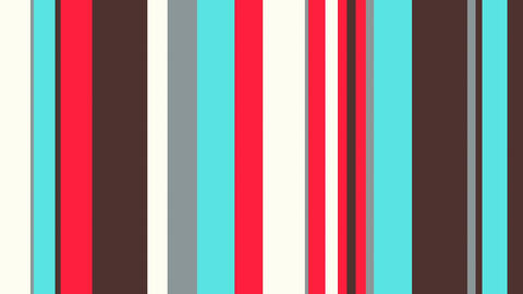 Multicolor Stripes 42 - Young Fashion Looping Bars Video Background Loop Animation