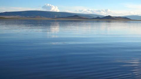 Mongolian Lake Telmen Lake Live Action