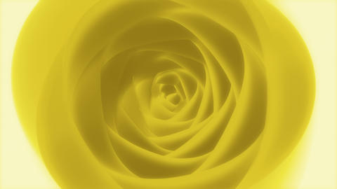 Eternal Yellow Rose - 4k Artistic Poetic Floral Video Background Loop Animation