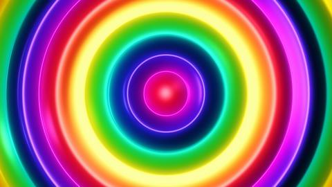Color Flow 2 - 4k Multicolor Organic Psychedelic Video Background Loop Animation