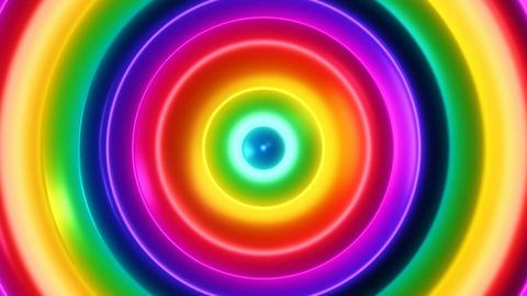 Color Flow 2 - 4k Multicolor Organic Psychedelic Video... Stock Video Footage