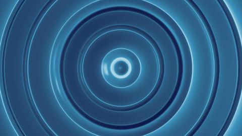 Blue Flow 4 - 4k Ripple-like Sharp Rings Video Background Loop Animation