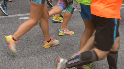 City Runners Marathon Footage