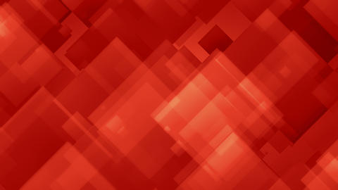 Squandal Red - 4k Red Abstract Squares Video Background Loop Animation