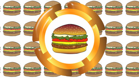 Cheeseburger icon in cheeseburgers Animation