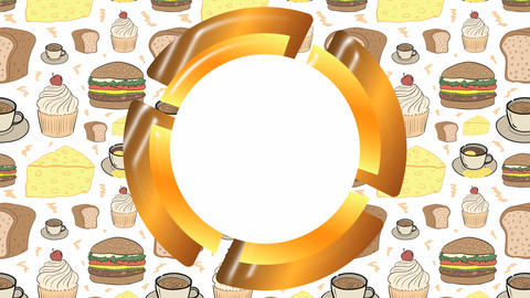 Empty icon with food Animation