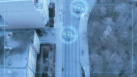 4K Self Driving Autonomous Cars Footage