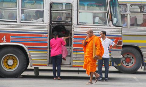 Bus Asia Fotografía