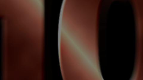CountDown metal 03 bronze Animation