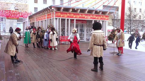 Folk holiday Maslenitsa Live Action