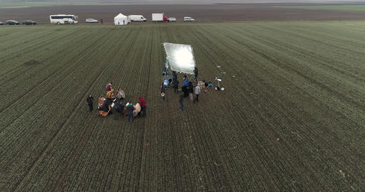 Film Crew In The Field 0