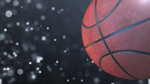 Basketball sport motion video background 0001 Animation