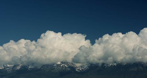 4K, Time Lapse, Close Up Pan Along High Tatra, Slovakia Footage