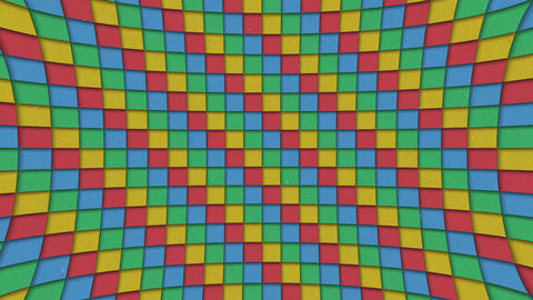 Abstract Shapes Colorful Squares Pattern Seamless Looping Animated Textures Pack